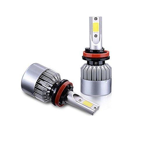 MTTLS Fari auto LED Lampadine a LED Faretto a LED Lampadine a LED Lampadine COB 36W 3600lm LED Lampadine Light Kit 12V di conversione per lampade alogene o NASCOSTE -QB2