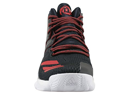 adidas Herren D Rose 7 Basketballschuhe Black (Negbas / Scarlet / Negbas)