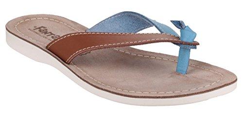 FA Fantasy Kos Chaussures occasionnelles Tan/BLUE