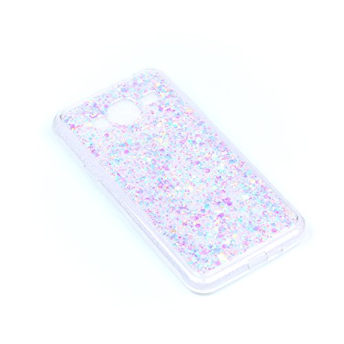 Coque pour Samsung Galaxy J5 2016 J510,Ultra Mince Paillette Protection Protecteurs Bumper Coquille Arrière Crystal Glitter Shinning Solide Skin Classique Portable Hybrid Rigide Shell,Pink Purple