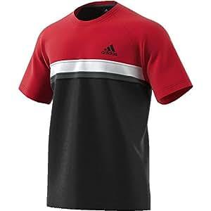 aba00186443536 adidas Herren Club Colorblock Kurzarm T-Shirt  Amazon.de  Sport ...