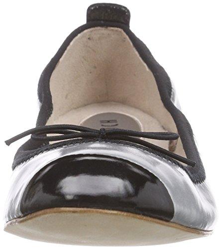 Bloch Luxury Ballet Flat Damen Geschlossene Ballerinas Silber (ARG)