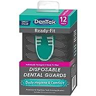 Dentek Ready Fit Night Dental Guard, 12 Pack
