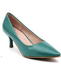 26ad68f8427 Green Women s Pumps  Buy Green Women s Pumps online at best prices ...