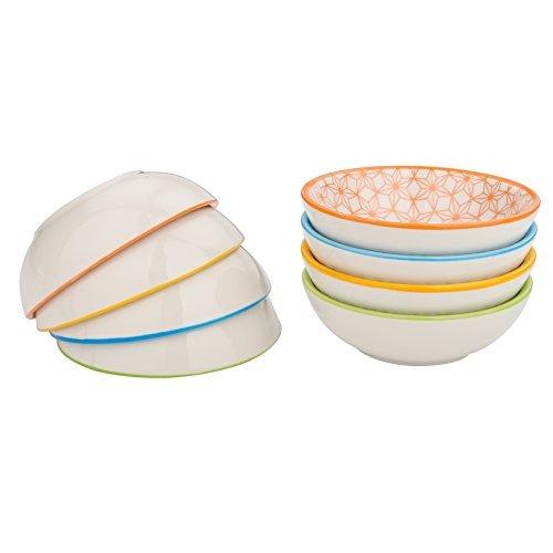 vancasso, série Natsuki, Assiette à Plaque, Assiette àsauce, 8 pièces, en Porcelaine, Style Japonais