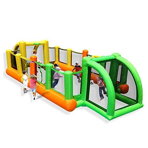 Kinder Hüpfburgen mit Gebläse Große Spielzeuge Startseite Aufblasbare Burgen Aufblasbarer Spielplatz Schloss Geschenke