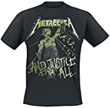Metallica ... And Justice For All - Vintage Camiseta Negro L