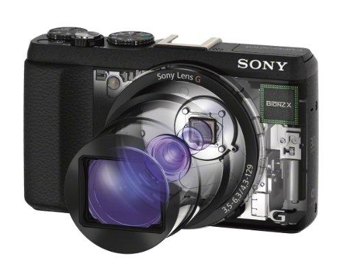 Bild 11: Sony DSC-HX60 Digitalkamera (20,4 Megapixel, 30-fach opt. Zoom, 7,5 cm (3 Zoll) LCD-Display, Exmor R CMOS Sensor, NFC/WiFi) schwarz
