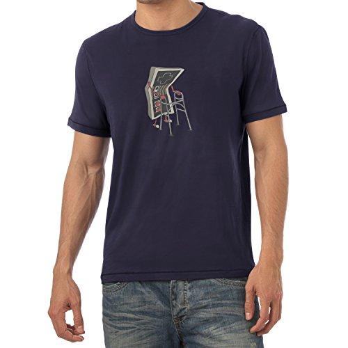 TEXLAB - Old Controller - Herren T-Shirt Navy