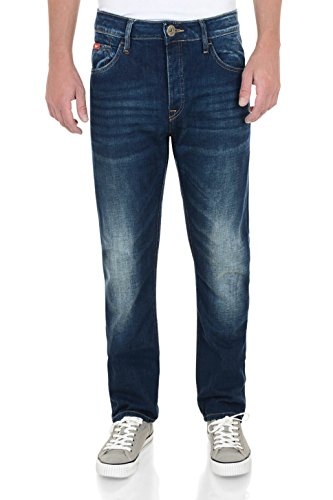 Lee Cooper -  Jeans  - Straight  - Uomo Bleu - Mid Wash 32W x 30L
