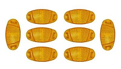 Preisjubel 8 x Speichenreflektor, Fahrrad-Speichenstrahler, Speichenlicht, Katzenauge