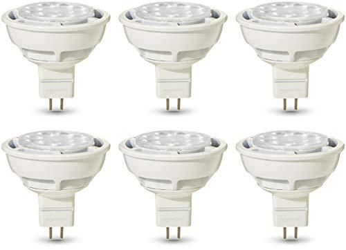 AmazonBasics Professional - Bombilla de foco LED GU5.3 MR16, equivalente a 50W,...