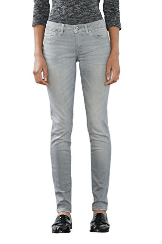 edc by ESPRIT 996CC1B921, Blu Donna, Grigio (GREY LIGHT WASH), W33/L32
