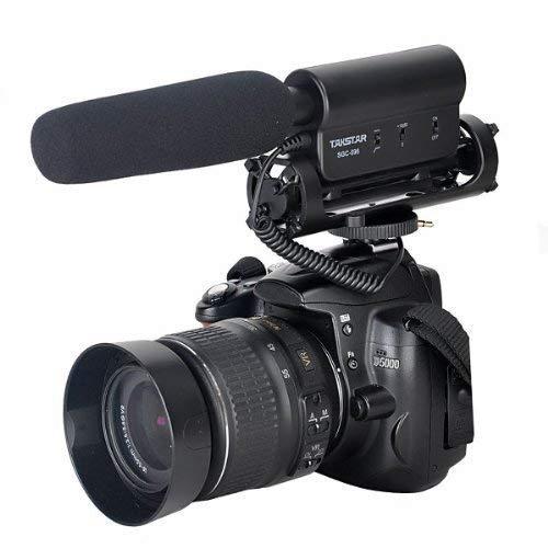 TAKSTAR SGC-598 Richtmikrofon Höhe Empfindlichkeit Kamera Mikrofon Photografie Kamera Interview Mic für Nikon, Canon, DV, DSLR, Camcorder (Benötigt 3,5 mm Schnittstelle)