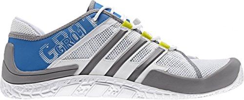 Adidas Sailing GR01 Grinder Bootsschuh (weiß/grau/blau Größe 40 2/3)
