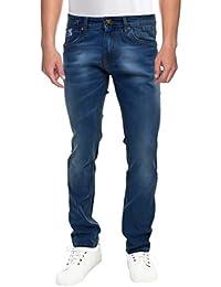 Raa Jeans Men's Slim Fit Jeans Raa025 Blue