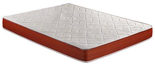 Colchón viscoelástico, 135 x 190 x 18 cm, alta densidad, máxima ventilación,...