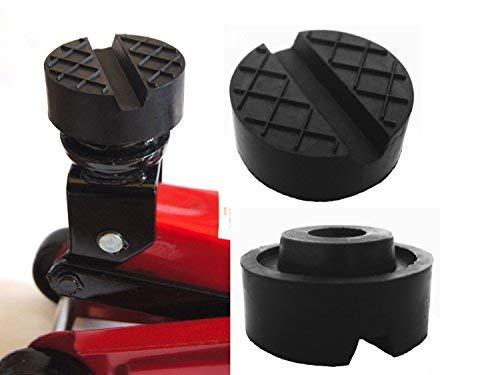 Preisvergleich Produktbild Gummiauflagen für Wagenheber in über 40 Varianten und Größen (Ø65x33mm Nut / Waffel)