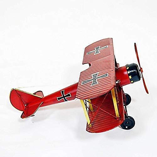 WDXGZY Dekoration,Flugzeug Modell Ornamente Metall Retro-Wing Fighter Foto Requisiten 60x60x35cm (Halloween Requisiten Awesome)