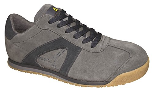 Delta Plus D-SPIRIT S1P travail Chaussure de Sécurité Toe Palte non métalliques bl grey