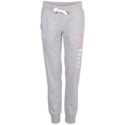 Kappa Damen Hose Weda Pants, Grey Melange, XL, 303546 Preisvergleich