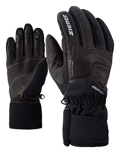 Ziener Erwachsene GLYXUS AS(R) Glove Alpine Ski-handschuhe/Wintersport   Wasserdicht, Atmungsaktiv, grau (grey iron tec), 10