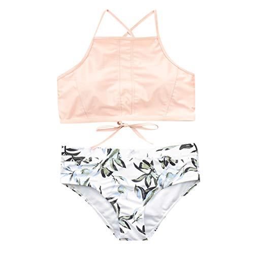CICIYONER Frauen Daman Bikini Set hohe Taille Bikinis Bademode Badeanzug weibliche Retro Beachwear S-XL