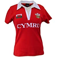 Wales Welsh Short Sleeve Ladies Rugby Shirt (14-16)