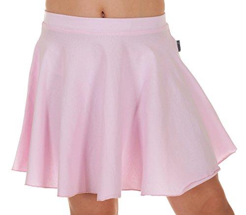 ce97b132a2 Jandaz 96% Cotton Skater Ballet Dance Skirt School WEAR HIGH Quality Made  in EU (140CM/9-10YRS, Pink)