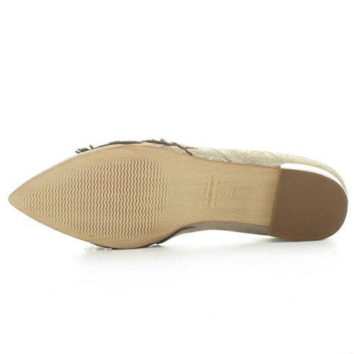Maripé Sneakers Basses Femme Platine