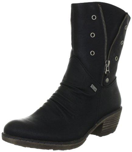 Rieker Kinder K1470, Boots fille Noir (Schwarz 01)