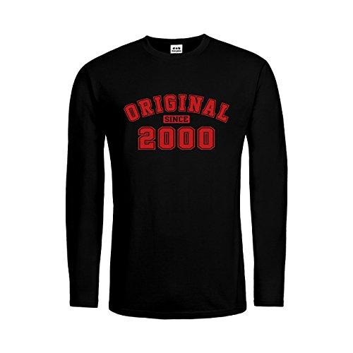 dress-puntos Herren Langarm T-Shirt Original since 2000 20drpt15-mtls01297-18 -