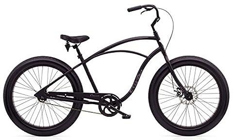 'Electra Fat Bike 1Homme vélo de 26Noir Beach Cruiser, rétro,
