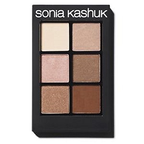 SONIA KASHUK **** 6 COLOR SHADOW PALETTE **** # 10 PERFECTLY NEUTRAL *** by Sonia Kashuk