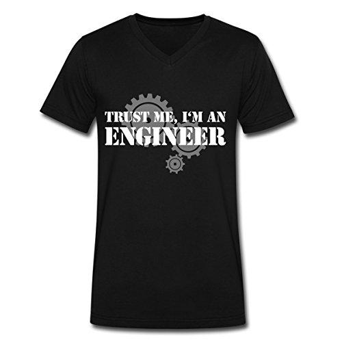 Gebraucht, I'm an engineer Ingenieur Männer T-Shirt mit V-Ausschnitt gebraucht kaufen  Wird an jeden Ort in Deutschland