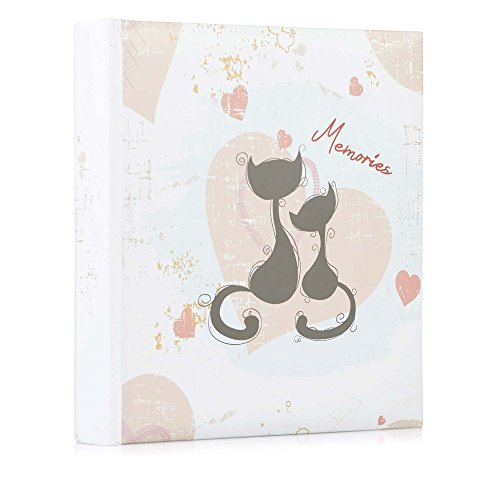 HOFMANN Memories - Álbum de Fotos (6 x 4,5 cm), Diseño de Gato