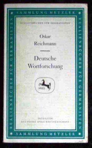 Deutsche Wortforschung