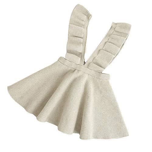 ALISIAM Winter Weihnachten Schwarzer Freitag Cyber Monday Kind Mädchen schön Hautfreundlich Gemütlich Stricken Trägerkleid Kleid Rock ()
