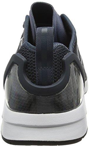 adidas Herren ZX Flux ADV Low-Top Blau (Bold Onix/Bold Onix/Core Black)