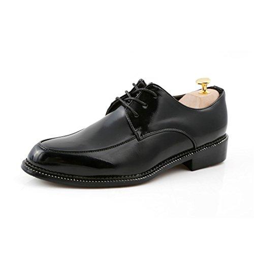 Il trend rilevato STRINGATE/Bassa marea scarpe/Estate scarpe tempo libero uomini daffari Nero
