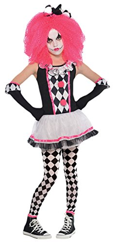 erdbeerloft - Mädchen Karneval Halloween Komplett Kostüm Circus Sweetie , Mehrfarbig, Größe 152-164, 12-14 (Circus Halloween)