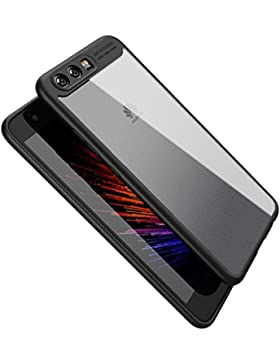 vanki Cover Huawei P10 Plus TPU Silicone Custodia Morbida Cristallo Trasparente Sottile Bordo Proteggi Copertura...
