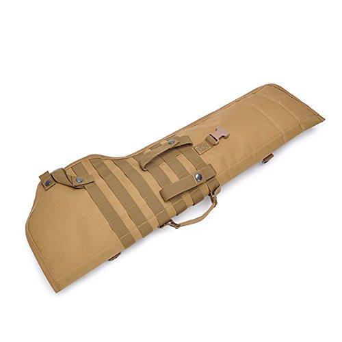 QINAIDI Camouflage Gun Bag Schultertasche Unterstützung tragbar Oxford Wasserdicht Tragbar Outdoor Tactical Holster