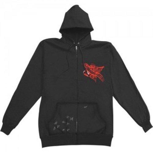 Rise Against - Birdie Zip Hoodie Sweatshirt (Small)
