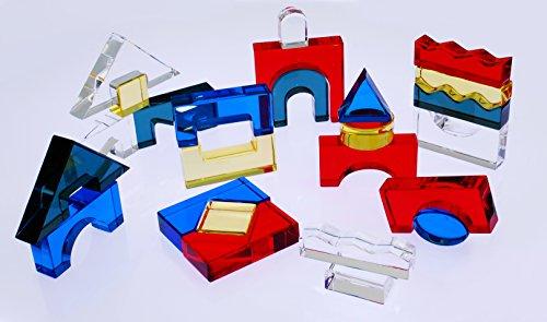 TickiT 72606Acryl-Blockset, 25-teilig, gemischt -