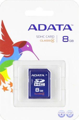 ADATA 8GB SDHC Card Class 4 -