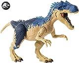 Jurassic World- Allosauro Dinosauro con Attacco Doppio, Giocattolo per Bambini 4 + Anni, GGX96