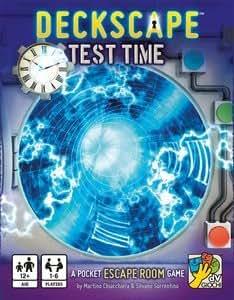 Deckscape: Test Time - A Pocket Escape Room Game