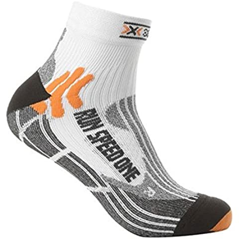 X-Socks Speed One - Calcetines deportivos unisex multicolor white/ black Talla:39-41