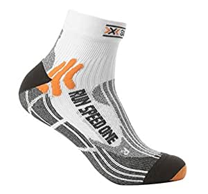 X-Socks Sidas - Speed One Chaussettes Homme - Multicolore (White) - FR : 35-38 (Taille Fabricant : 1)